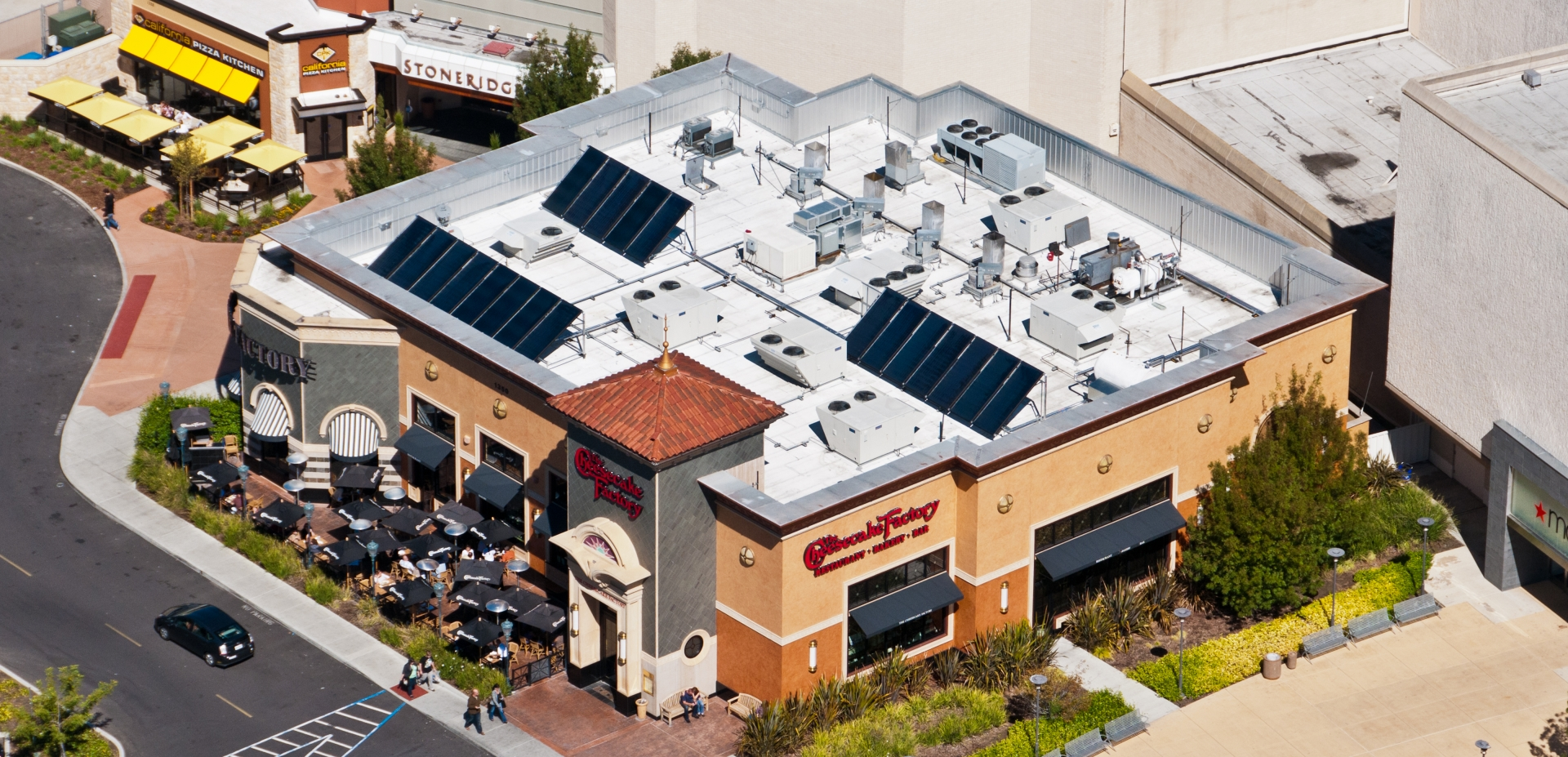 Cheesecake Factory | Solar Thermal | Pleasanton