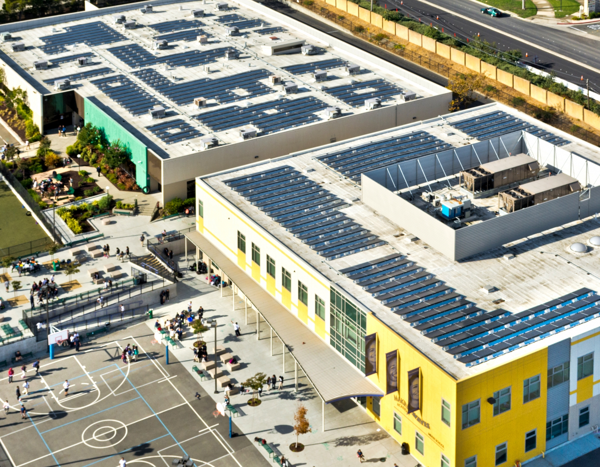 MAKING WAVES ACADEMY Rooftop Solar