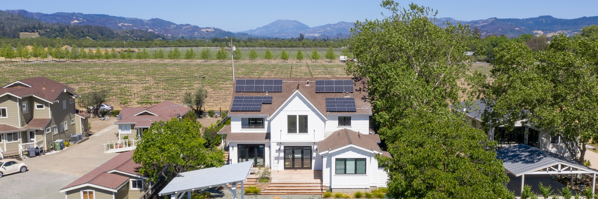 Solar Home Wine Country