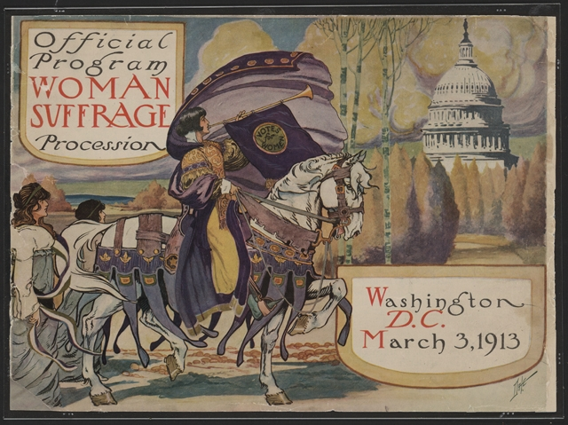 1913 Suffrage Parade DC