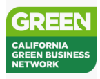 We're a member of the California Green Business Network!