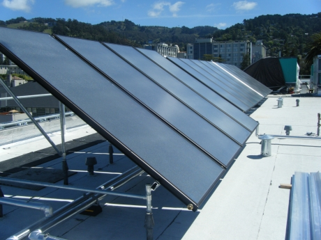 Channing Way Solar Water Heating Installation