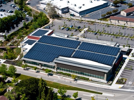 Castro Valley Library Solar Installation