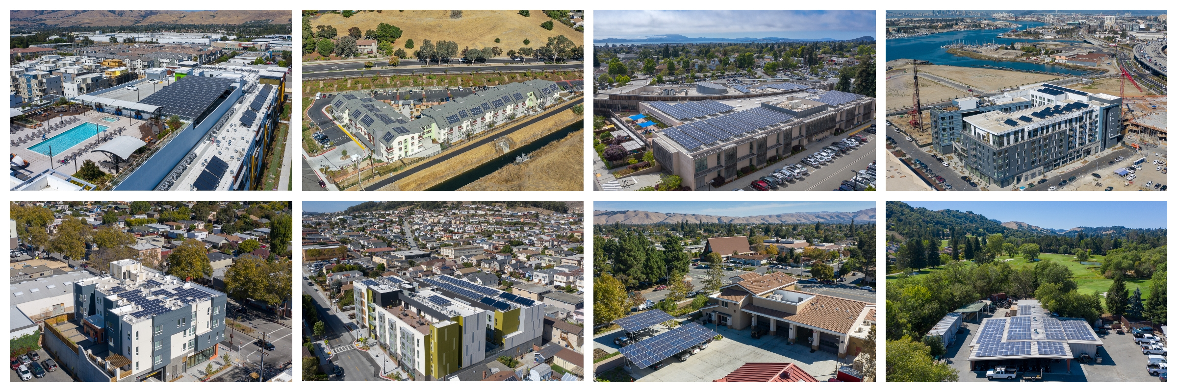 Solar Roofs Drone Gallery